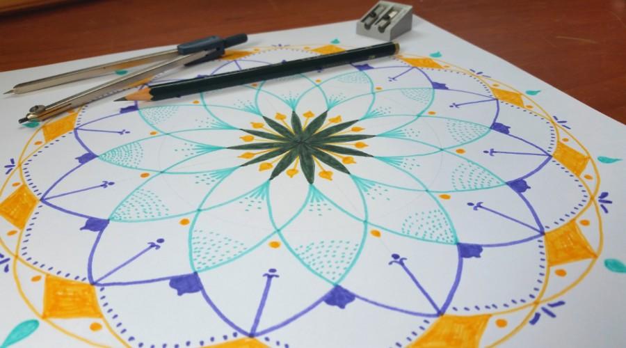 Mandala Meditation - art class, Maleny
