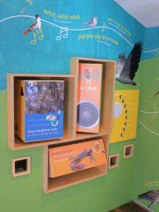bird calls at Bilai Environmental Education Centre